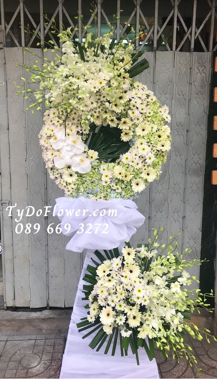 kệ hoa chia buồn TyDo Flower