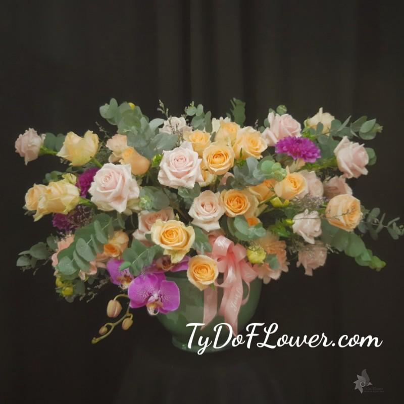 hoa cắm bình tydo flower